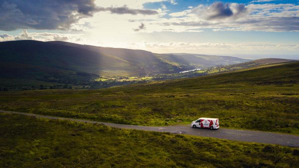 A day in the Wicklow Mountains – Time-lapse with the Evercam Van