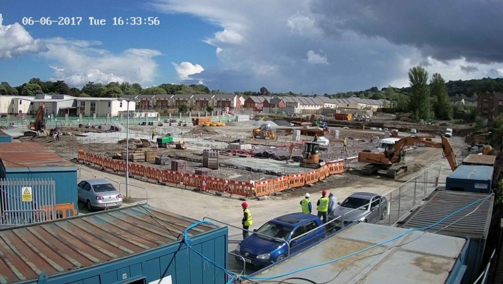 ETNS School construction site