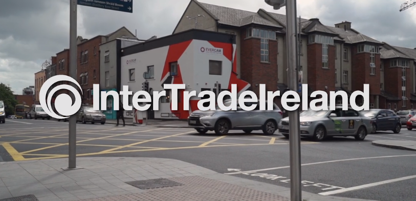 Intertrade Ireland interview Evercam about the Elevate Program – starring our new office paint job.