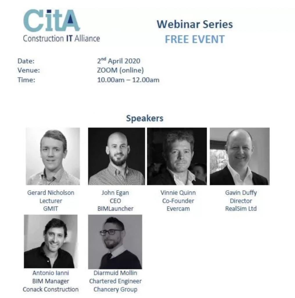 Cita webinar series members