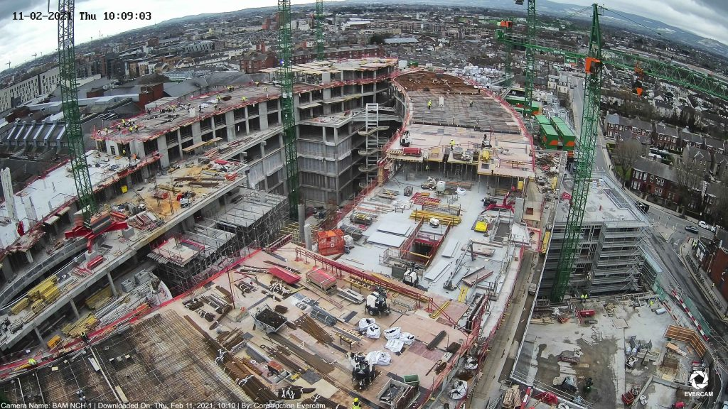 This is the construction Site of National Children's Hospital