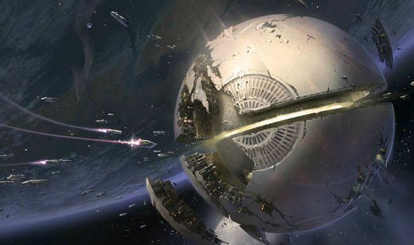 dyson sphere death star from star wars