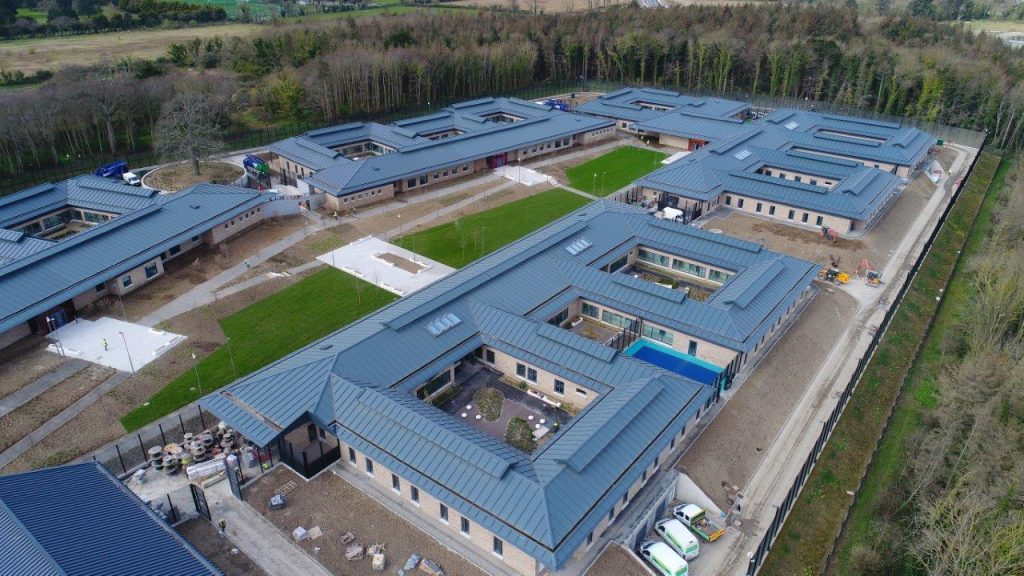 Drone image of NFMHS Portrane