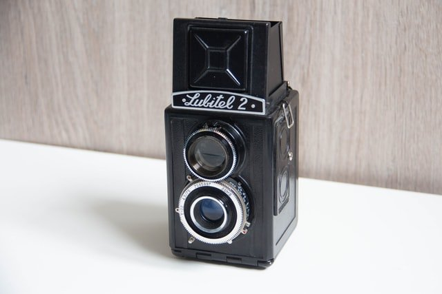 Old Soviet-Era film camera